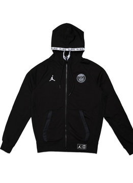"""Air Jordan PSG Fleece Zipped Hoodie """"Black"""""""