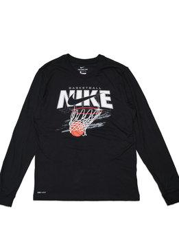 """Nike Swish LS Dri-Fit Tee """"Black"""""""