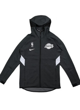 "Nike LA Lakers Therma Flex Showtime Hoodie ""Black Heather"""