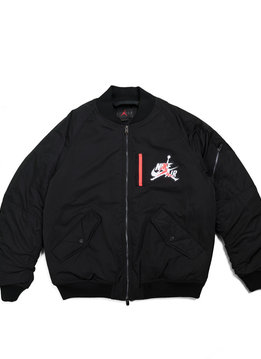 """Air Jordan Wings MA-1 Bomber Jacket """"Black"""""""