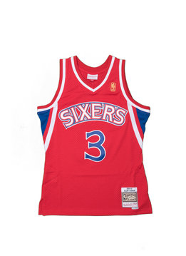 "Mitchell & Ness Philadelphia 76ers '96 - '97 A. Iverson Swingman Jersey ""Red"""