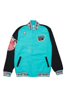 """Mitchell & Ness Vancouver Grizzlies Authentic Jacket """"Teal/Black"""""""