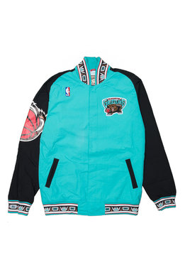 "Mitchell & Ness Vancouver Grizzlies Authentic Jacket ""Teal/Black"""