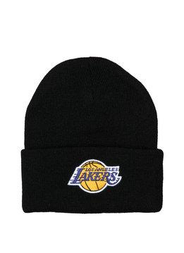 "Mitchell & Ness LA Lakers Team Logo Cuffed Beanie ""Black"""