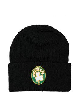 "Mitchell & Ness Boston Celtics Team Logo Cuffed Beanie ""Black"""