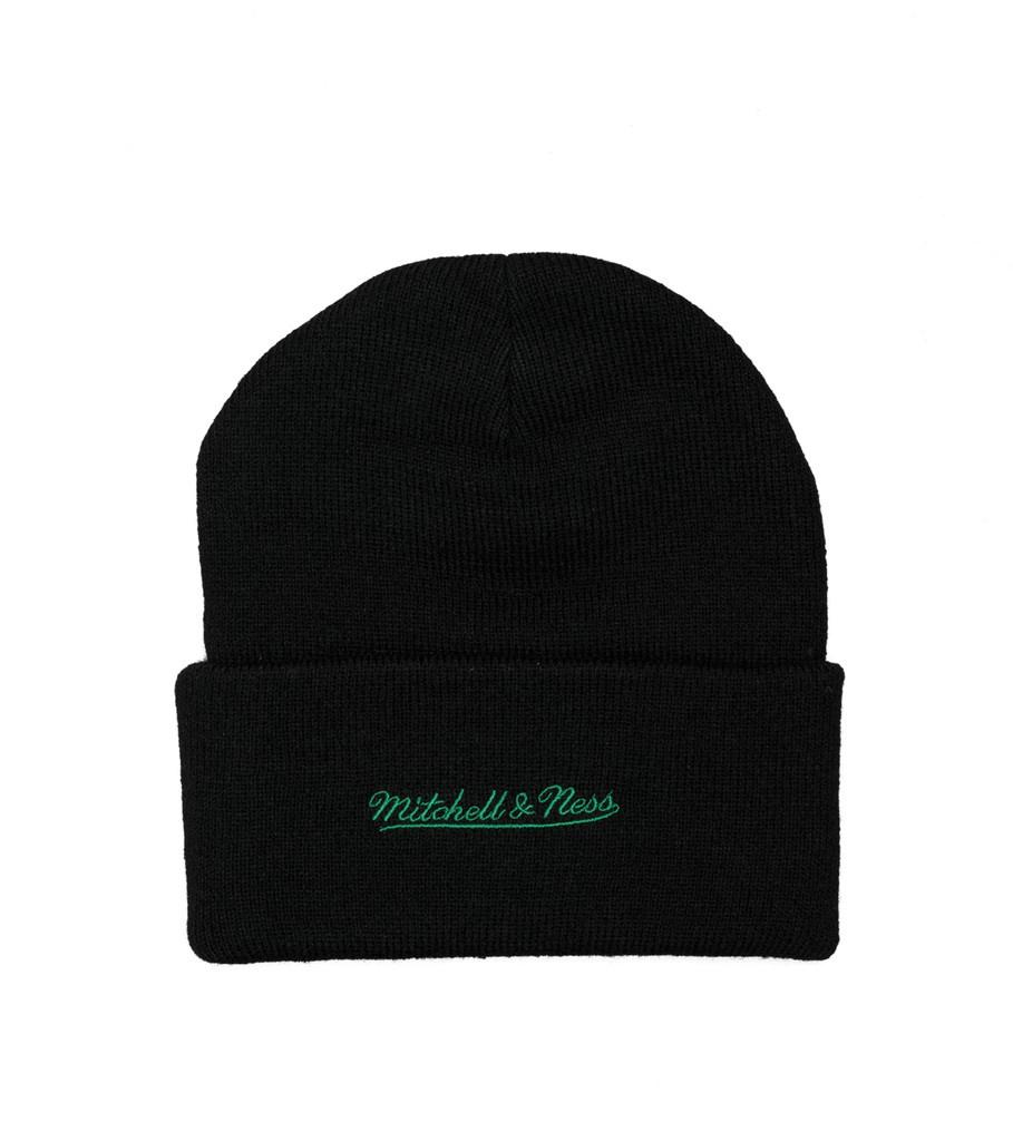"Boston Celtics Team Logo Cuffed Beanie ""Black""-2"