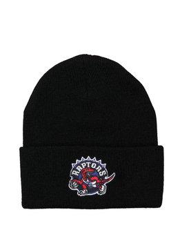 "Mitchell & Ness Toronto Raptors Team Logo Cuffed Beanie ""Black"""