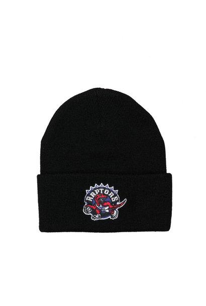 "Toronto Raptors Team Logo Cuffed Beanie ""Black"""