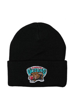 "Mitchell & Ness Vancouver Grizzlies Team Logo Cuffed Beanie ""Black"""