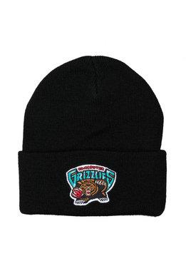 "Mitchell & Ness Vancouver Grizzlies Team Logo Cuffed Beanie ""Black"""