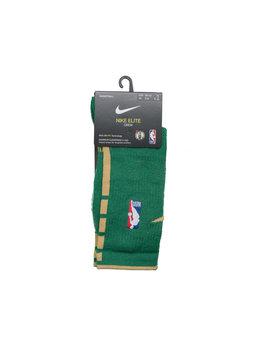 "Nike Boston Celtics City Edition '19 Crew Socks ""Clover/Club Gold"""