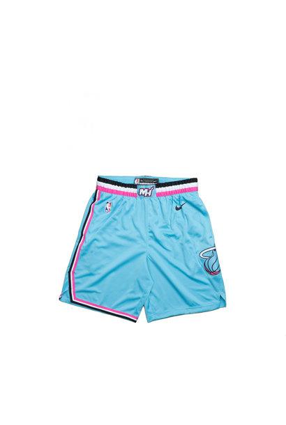 "Miami Heat City Edition '19 Swingman Short ""Blue Gale"""