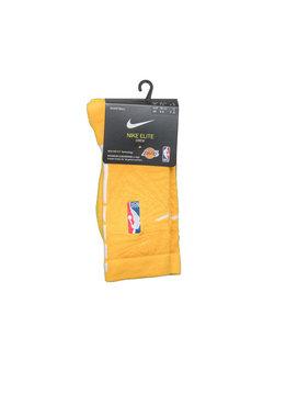 "Nike LA Lakers City Edition '19 Crew Socks ""Amarillo/White"""