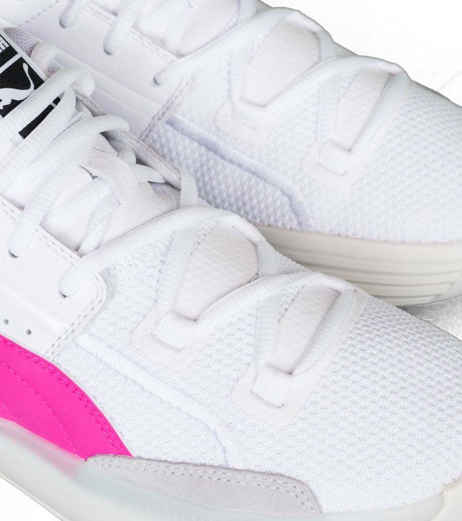 "Clyde Hardwood ""White/Pink""-7"