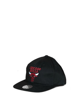 "Mitchell & Ness Chicago Bulls Deadstock Throwback Snapback ""Black"""
