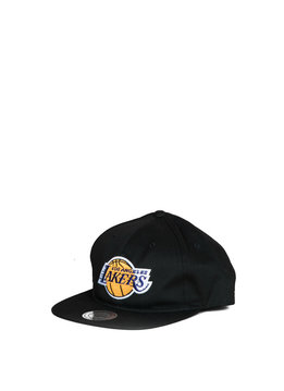 "Mitchell & Ness LA Lakers Deadstock Throwback Snapback ""Black"""
