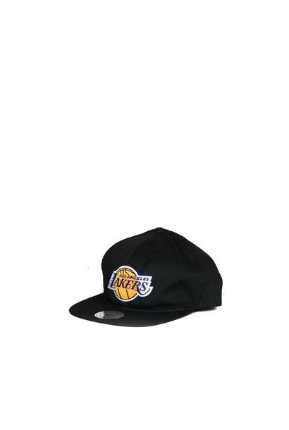"LA Lakers Deadstock Throwback Snapback ""Black"""