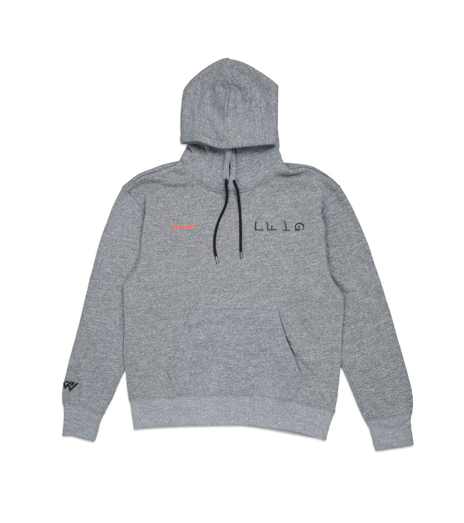 "RW Why Not? Hoodie ""Carbon Heather""-1"