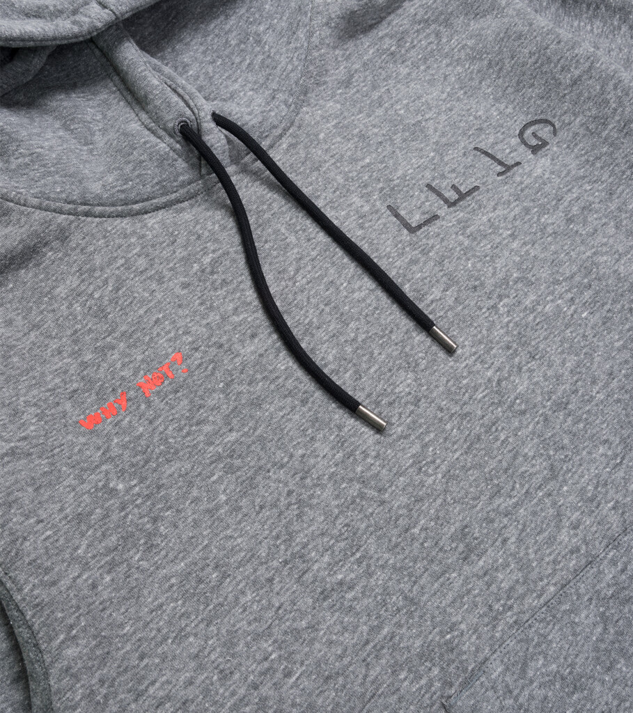 "RW Why Not? Hoodie ""Carbon Heather""-2"