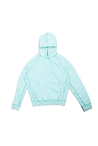 "Washed Wings Hoodie  ""Light Aqua"""