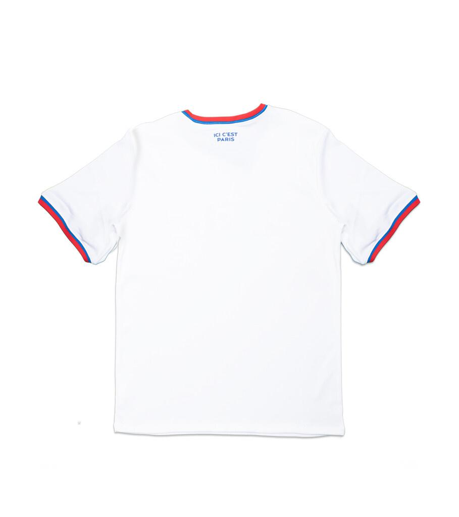 "PSG Jumpman Polyester Replica Tee ""White/Hyper Cobalt""-3"