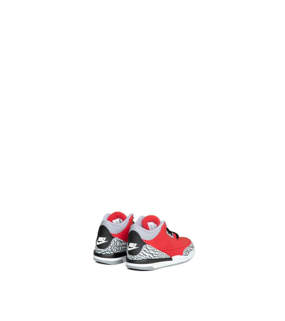 """3 Retro SE (PS) """"Fire Red/Cement Grey""""-2"""