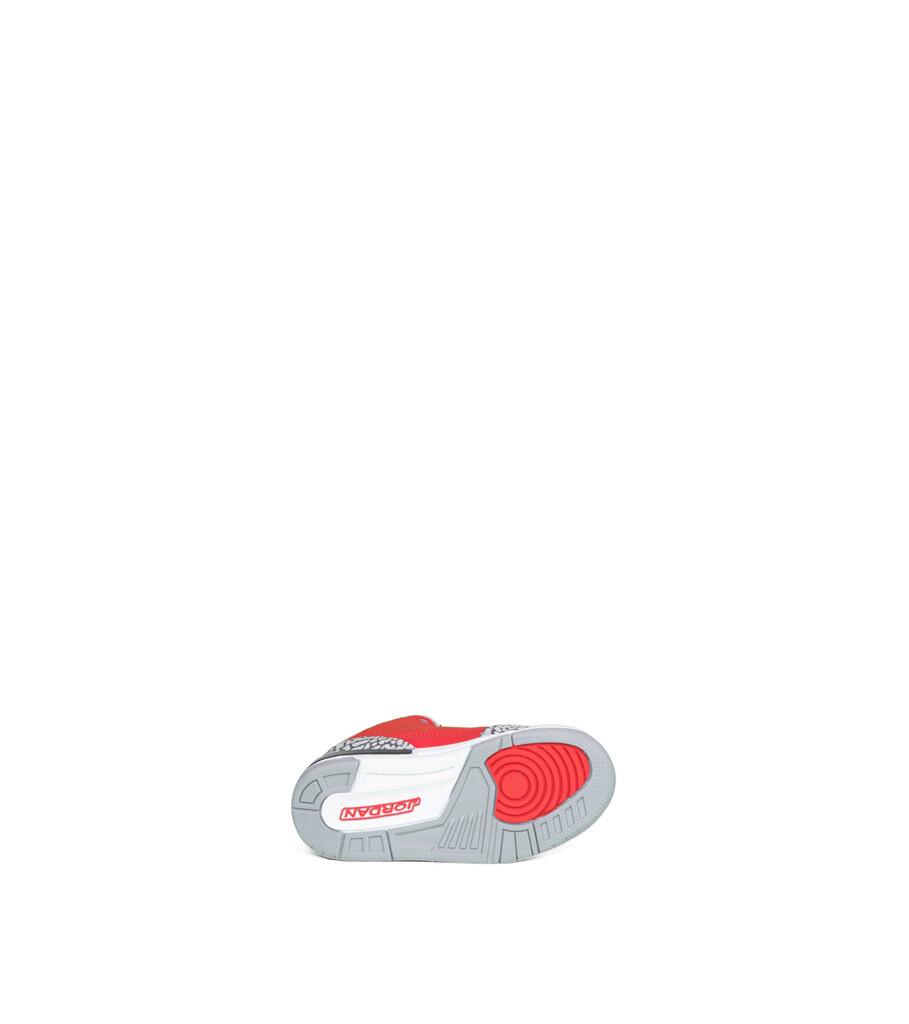 """3 Retro SE (PS) """"Fire Red/Cement Grey""""-4"""