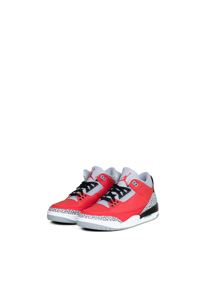 "3 Retro SE (GS) ""Fire Red/Cement Grey"""