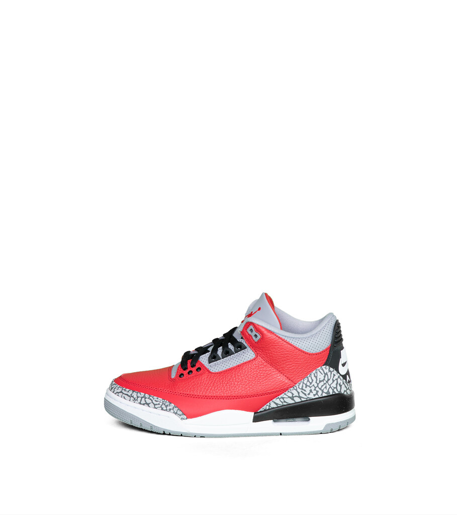 "3 Retro SE (GS) ""Fire Red/Cement Grey""-3"