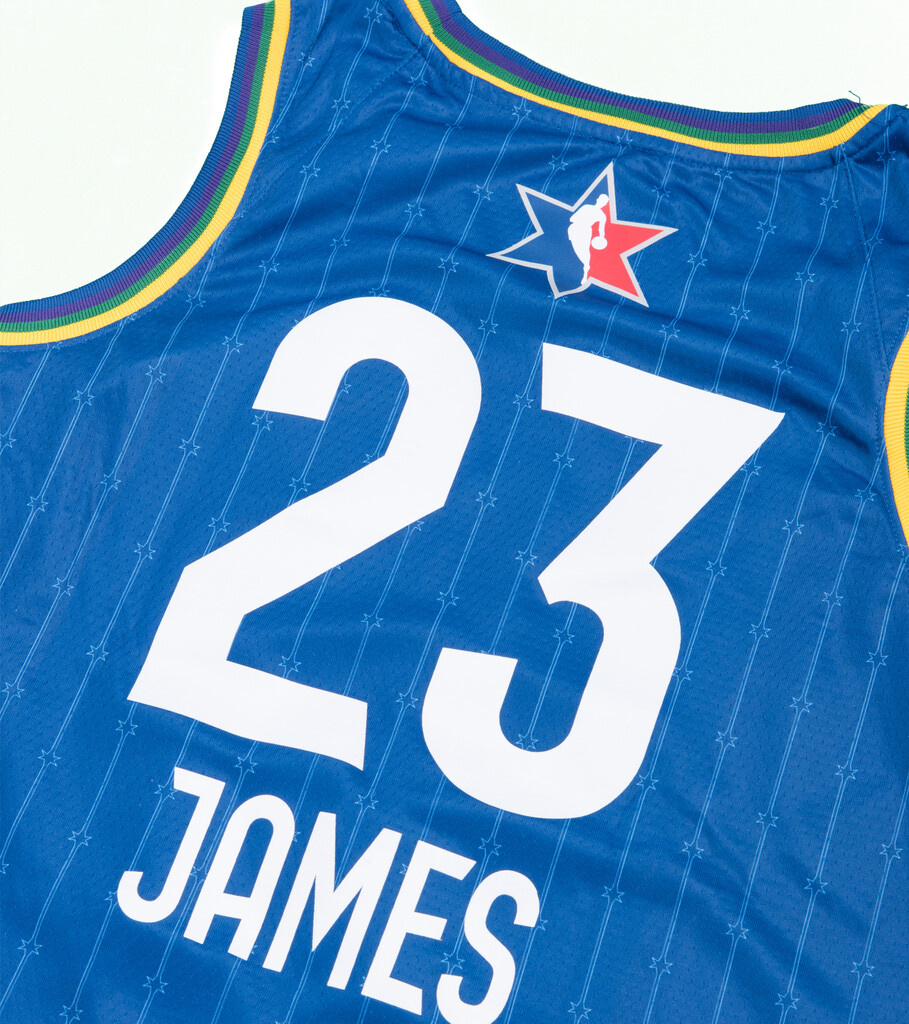 "L. James NBA All-Star '20 Edition Jersey ""Rush Blue""-3"