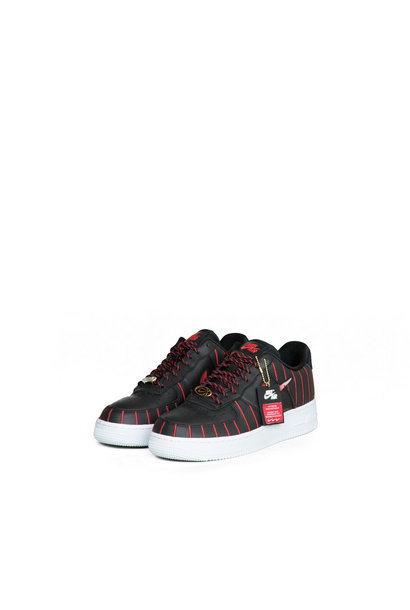 "W Air Force 1 Jewel QS ""Black/Red"""