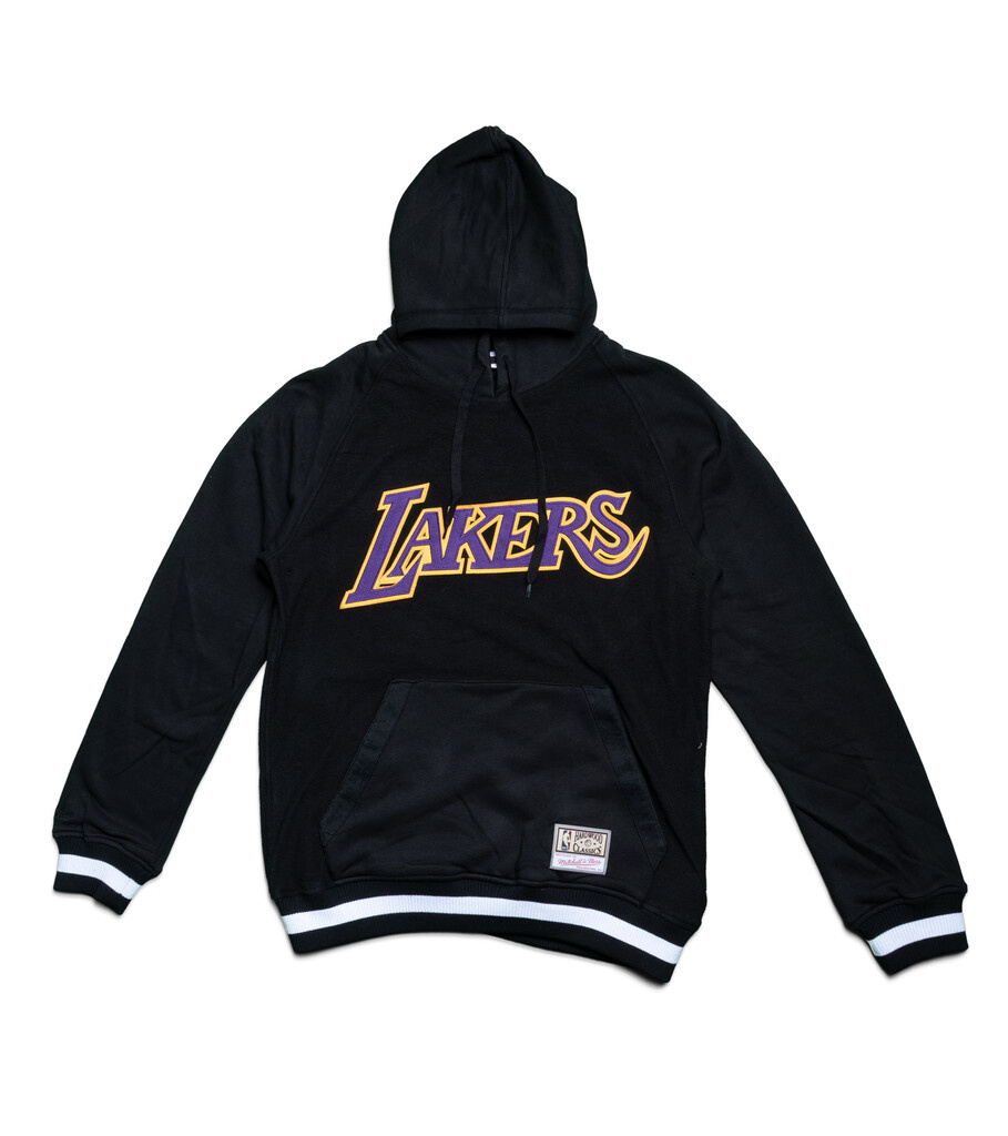"""LA Lakers Gametime Hoodie """"Black""""-1"""