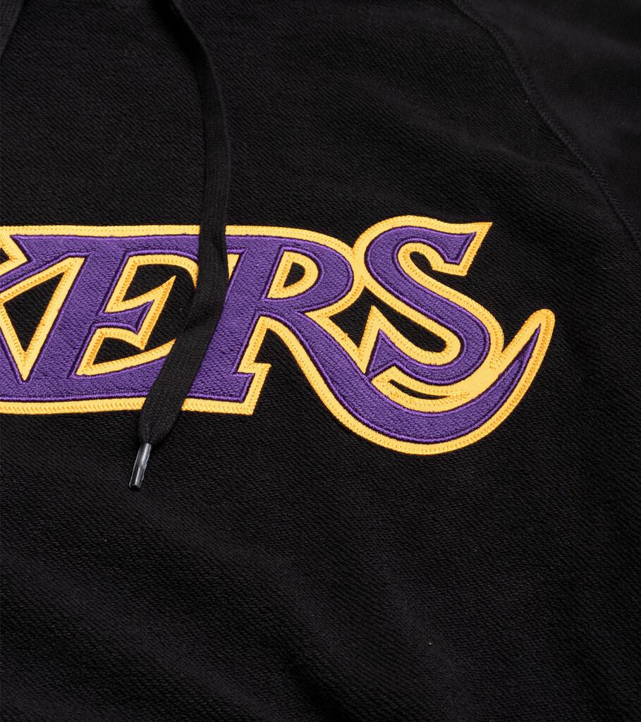 """LA Lakers Gametime Hoodie """"Black""""-2"""