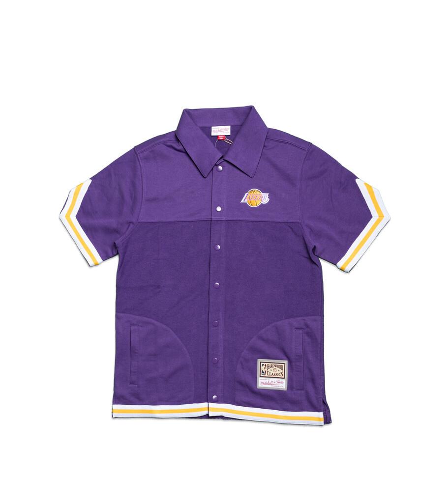 "LA Lakers Warm Up Shirt ""Purple""-1"