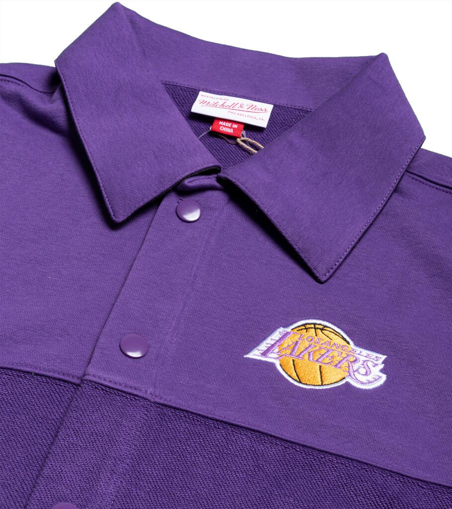 "LA Lakers Warm Up Shirt ""Purple""-2"
