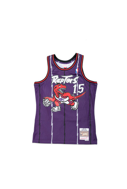 "Toronto Raptors '88-'89  V. Carter Swingman Jersey ""Purple"""