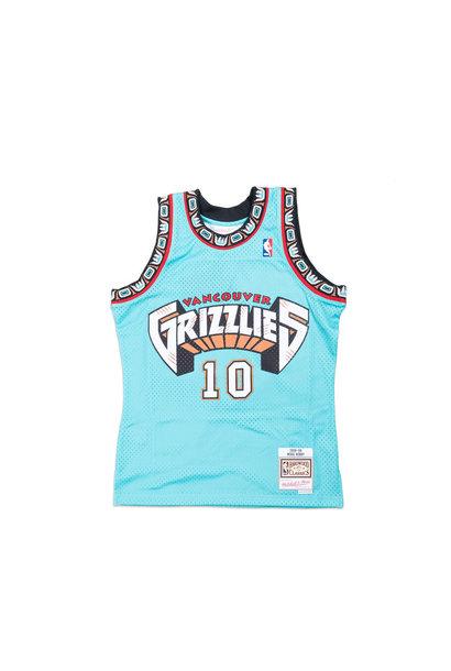 "Memphis Grizzlies '98-'99 M. Bibby Swingman Jersey ""Green"""