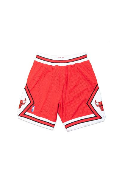 "Chicago Bulls '87-'88 Authentic Short ""Red"""