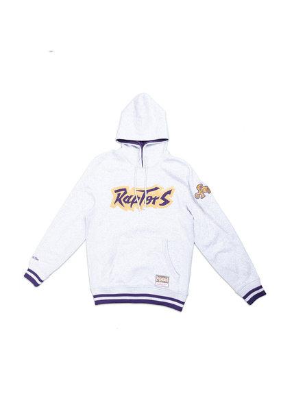 """Toronto Raptors Logo Hoodie """"Grey/Purple"""""""