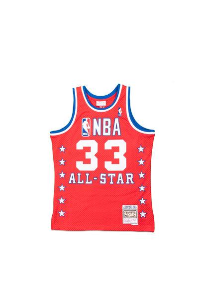 "K. Abdul-Jabbar '88 All Star Game West Swingman Jersey ""Red"""
