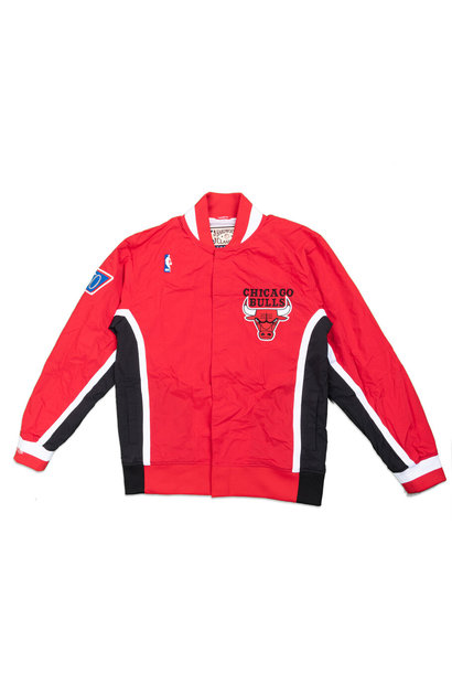 "Chicago Bulls '96-'97 Authentic Warm Up Jacket ""Red"""