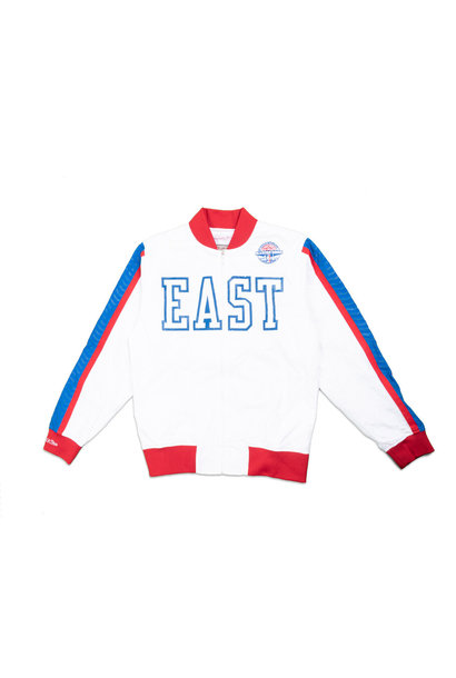 "NBA '88 All Star Game East Warm-Up Jacket ""White"""