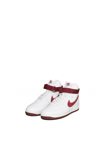 "Air Force 1 Hi Retro QS ""Summit White/Red"""