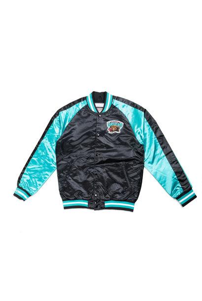 "Vancouver Grizzlies Satin Jacket ""Black"""