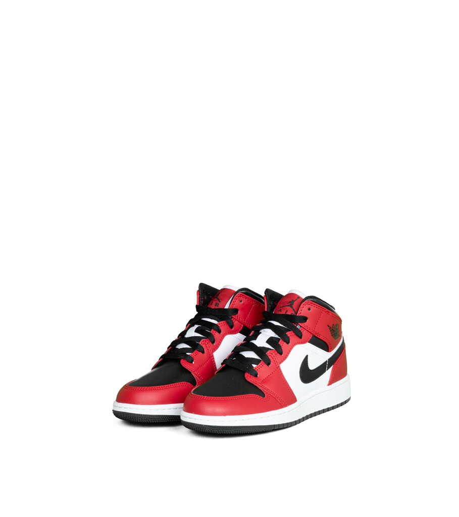 """1 Mid (GS) """"Black/Gym Red""""-1"""