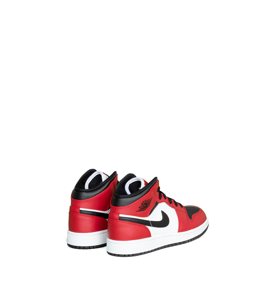 """1 Mid (GS) """"Black/Gym Red""""-2"""
