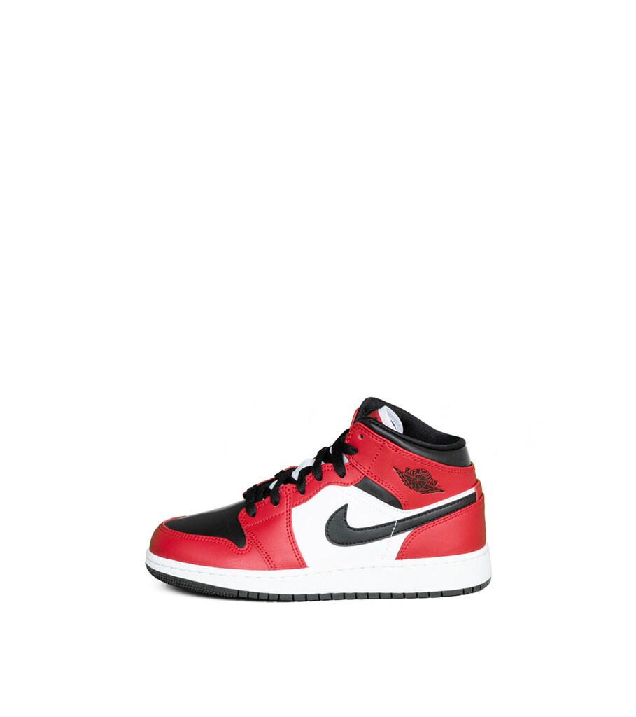 """1 Mid (GS) """"Black/Gym Red""""-3"""