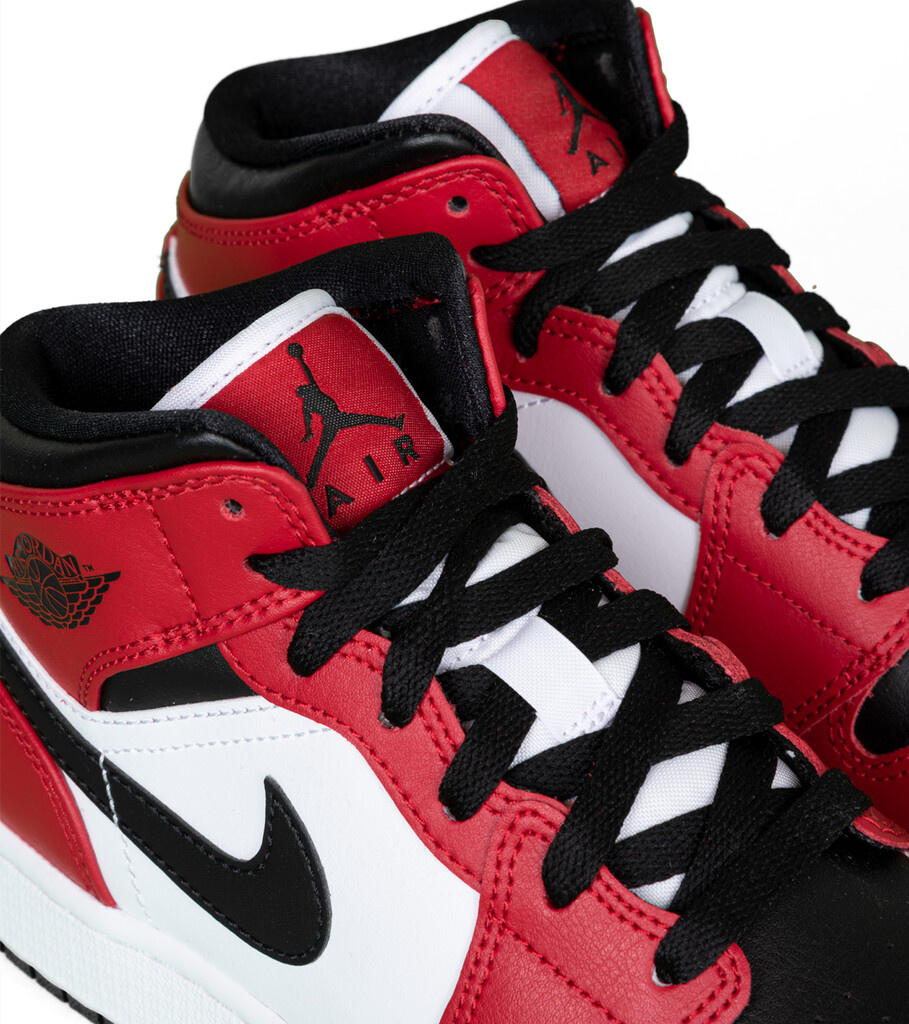 """1 Mid (GS) """"Black/Gym Red""""-5"""