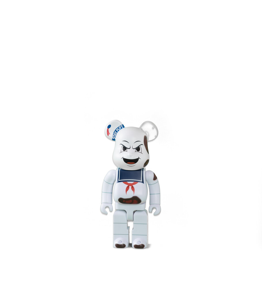 "Ghostbuster Stay Puft Marshmallow Man 400% Be@rbrick ""Anger Face""-1"