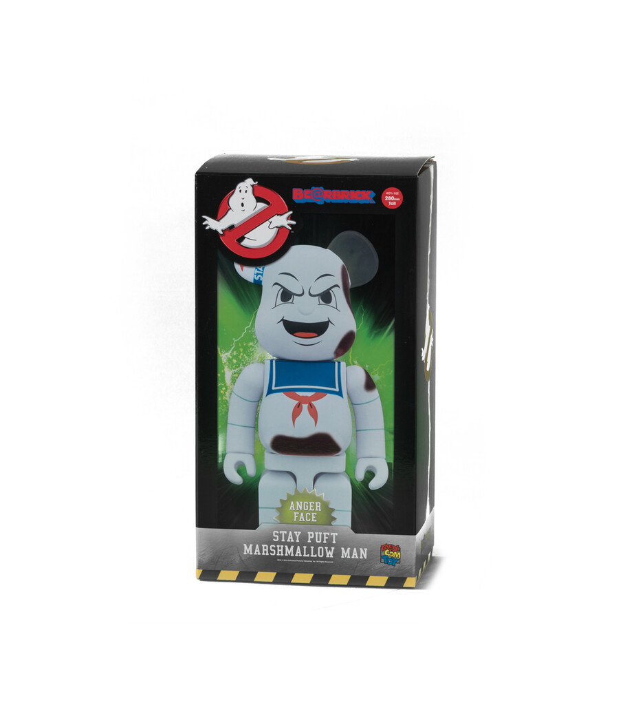 "Ghostbuster Stay Puft Marshmallow Man 400% Be@rbrick ""Anger Face""-2"